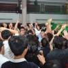 Delegates dance the night away